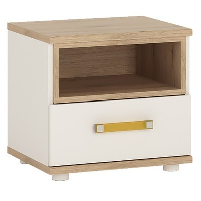 4KIDS Single Drawer Bedside Cabinet