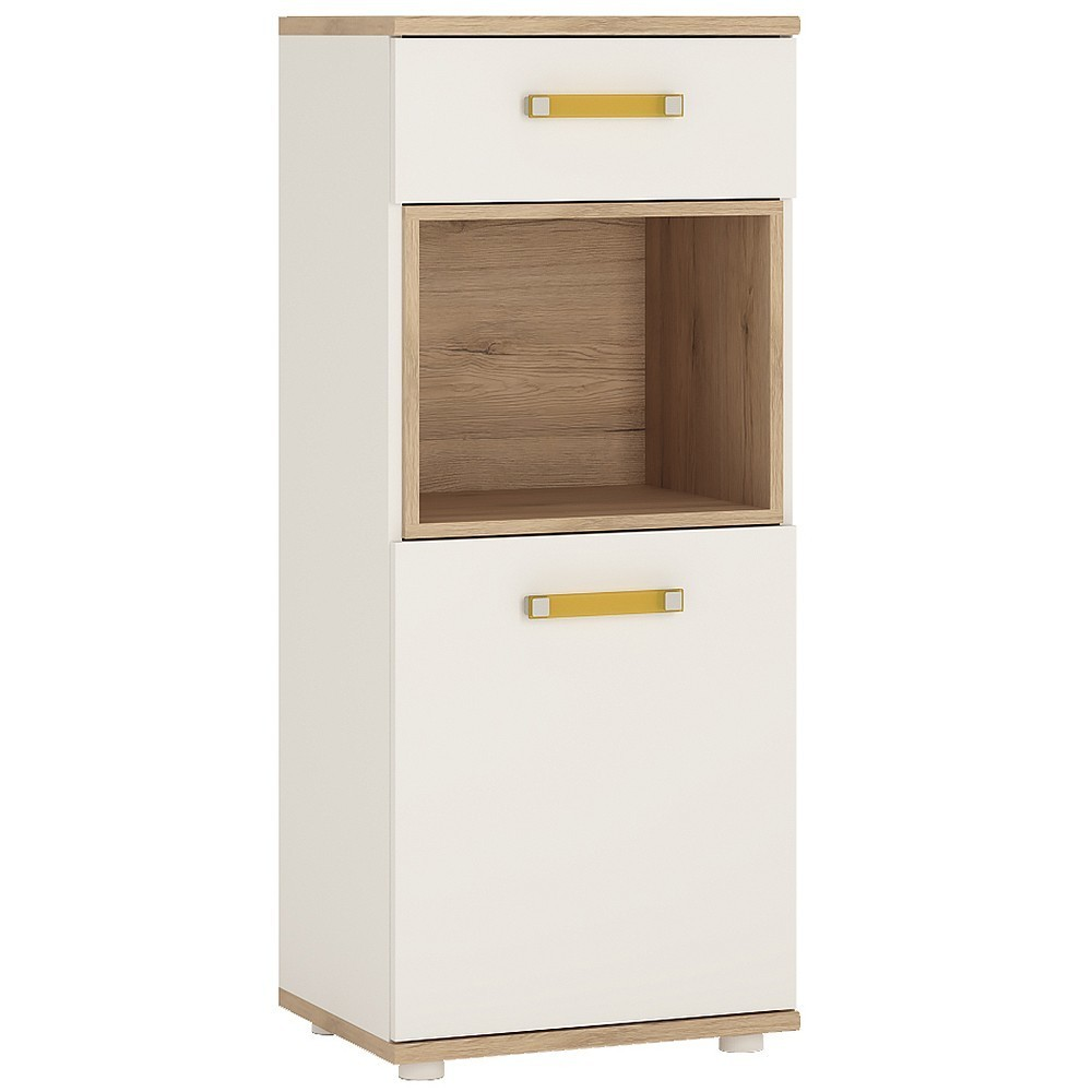 4KIDS Single Door Drawer Narrow Cabinet
