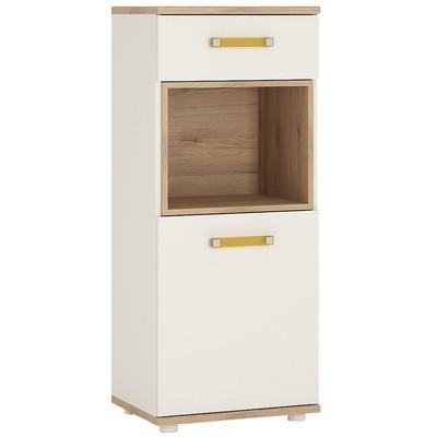 4KIDS Single Door Drawer Narrow Cabinet