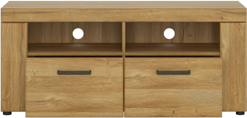 Cortina Double Drawer TV Cabinet