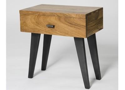 Anacia One Drawer Side Table