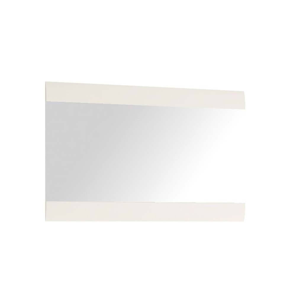 Chelsea White Wide Wall Mirror