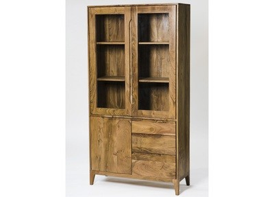 Solid Wood Display Unit