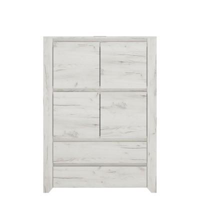 Angel 4 Door 2 Drawer Cupboard
