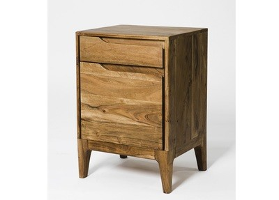 Solid Wood Small Side Table Chest