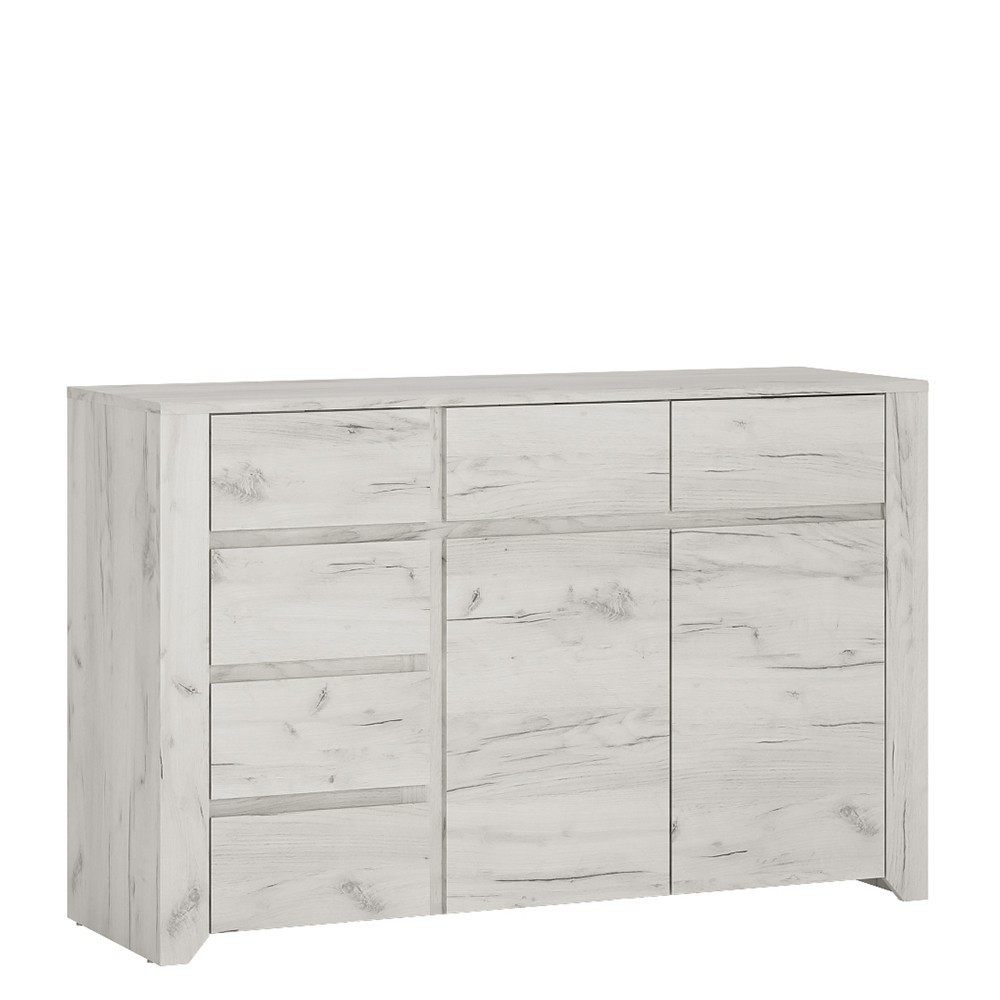 Angel 2 Doors 6 Drawers Wide Chest