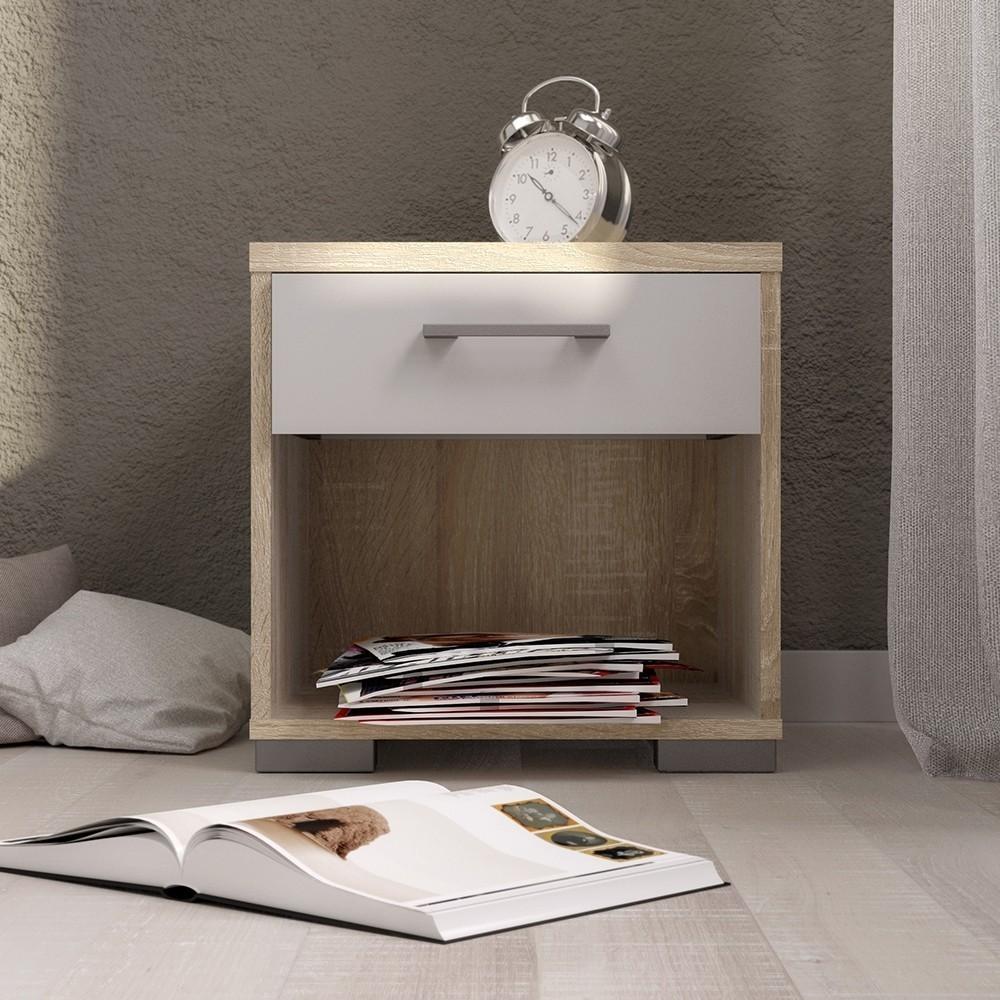 Homeline 1 Drawer Bedside Table