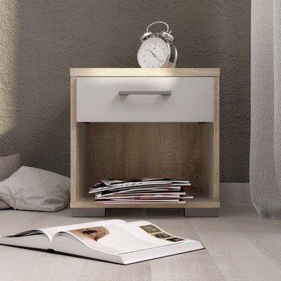 Homeline 1 Drawer Bedside Table