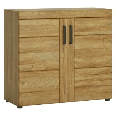 Cortina Double Door Small Storage Cabinet