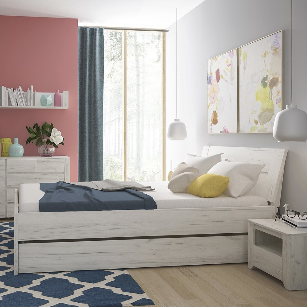 Angel White Double bed