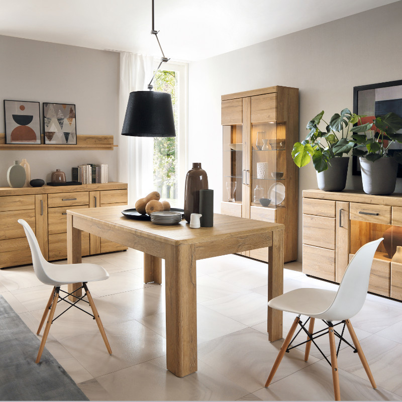 Cortina Modern Extendable Dining Table