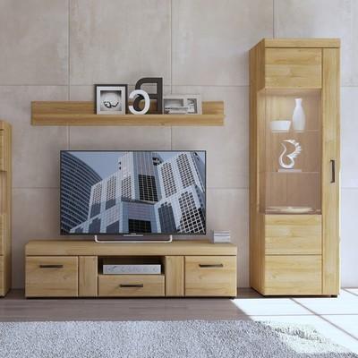 Cortina Tall Glazed Display Unit