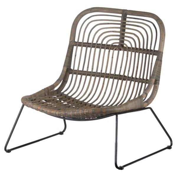 Bali Rattan Low Pod Chair