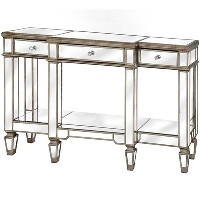 Belfry Mirrored Display Console Table