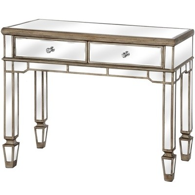 Belfry 2 Drawer Mirrored Console Table