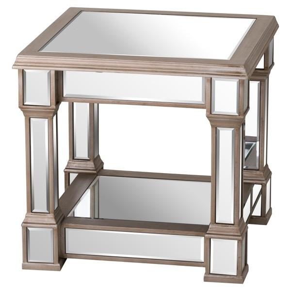 Belfry Mirrored Side Table