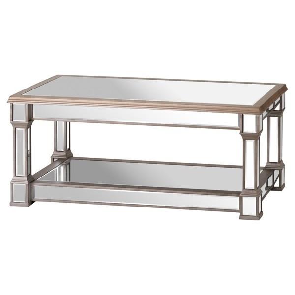 Belfry Mirrored Display Coffee Table