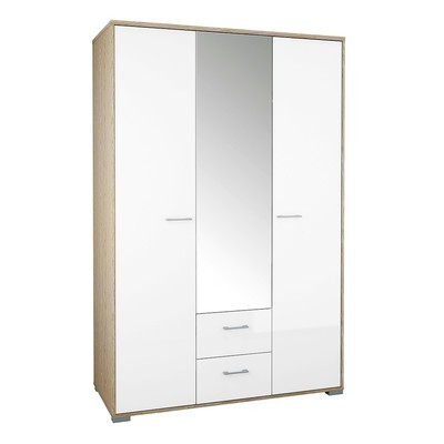 Homeline 3 Doors 2 Drawers Wardrobe
