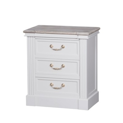 Liberty Three Drawer Bedside