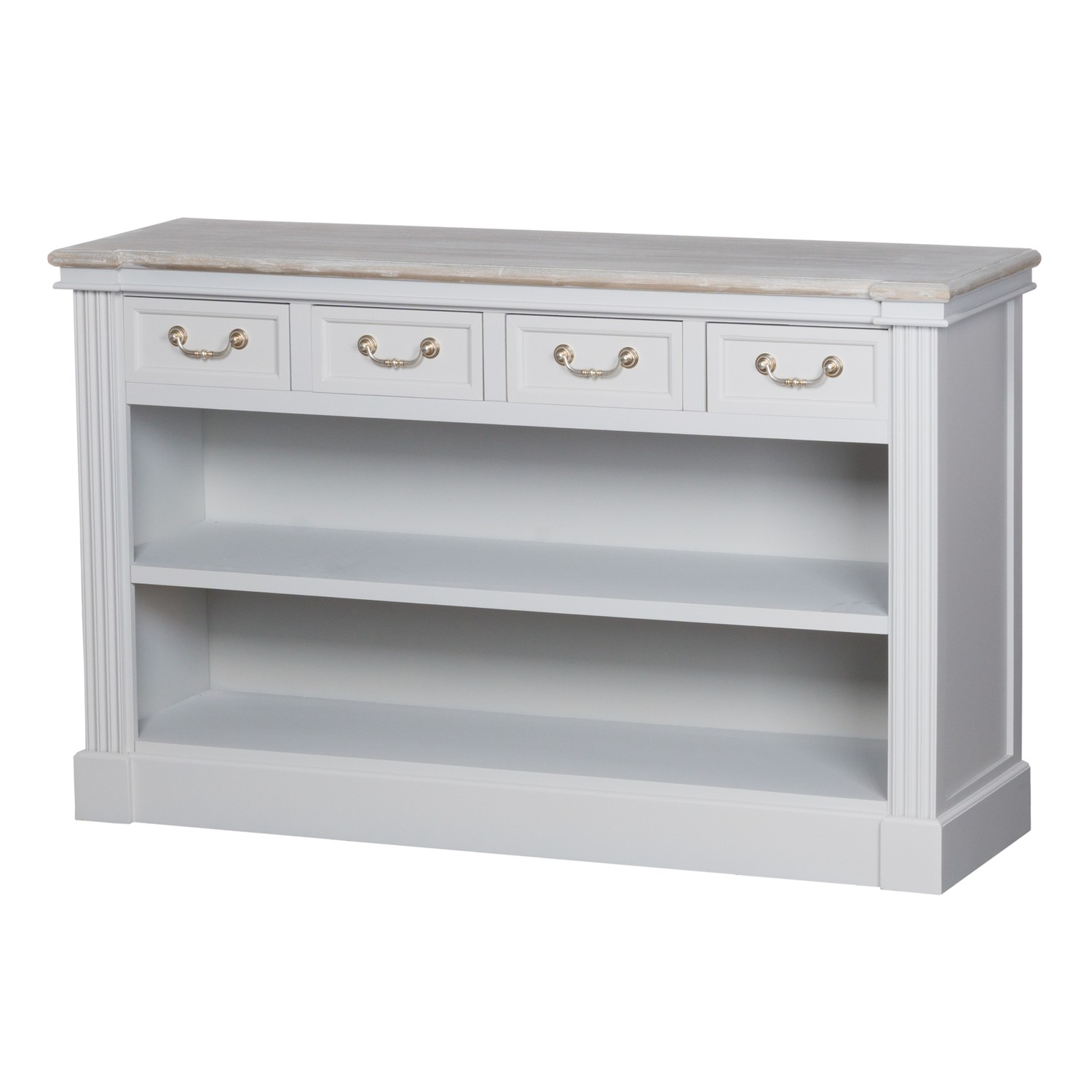 Liberty Four Drawer Low Bookcase