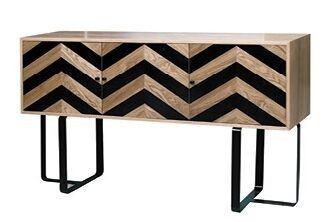 Harlow Black Wave Side Board
