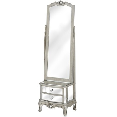 Argente Cheval Mirror & Two Drawers