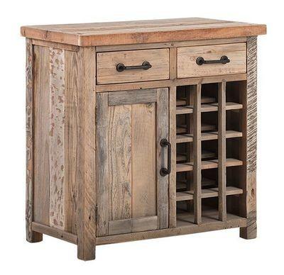 Double Drawer Single Door Wine Table