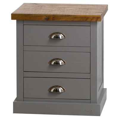 Byland 3 Drawer Bedside