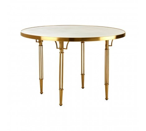 Modica Golden Dining Table