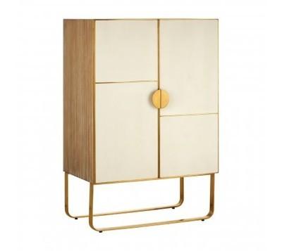 Modica Golden Brown Cabinet