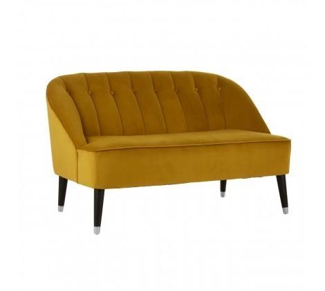 Doucet Dijon Mustard 2 Seater Sofa