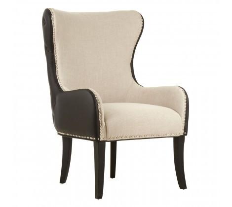 Doucet Natural-Toned Armchair