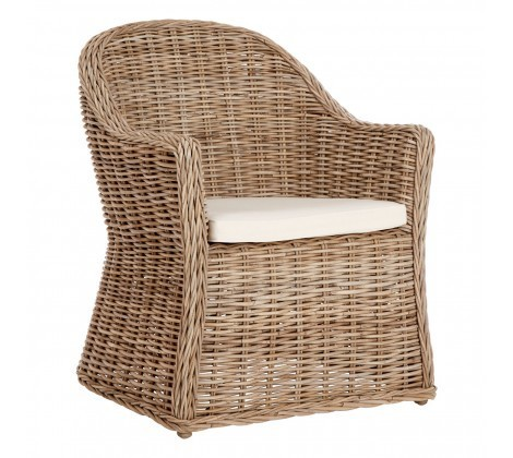 Rounded Lovina Rattan Chair