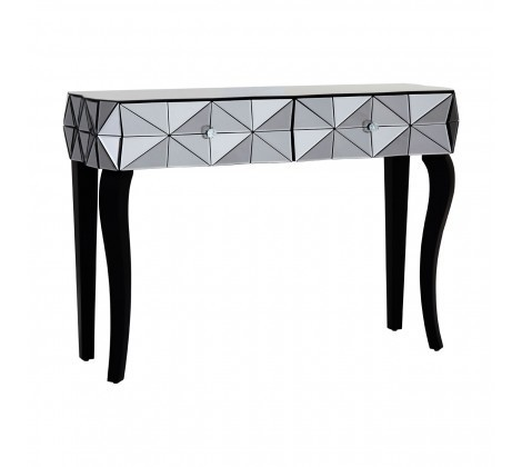 Soho Smoke 3D Glass Console Table