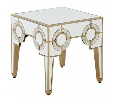 Knightsbridge Mirrored Side Table