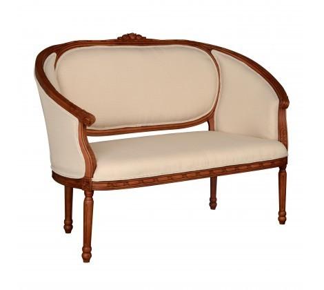 Valentina Soft Cream 2 Seater Sofa
