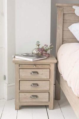 Homestead Pine 3 Drawer Bedside Chest