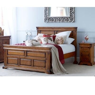 Birch Veneer Super King Bed