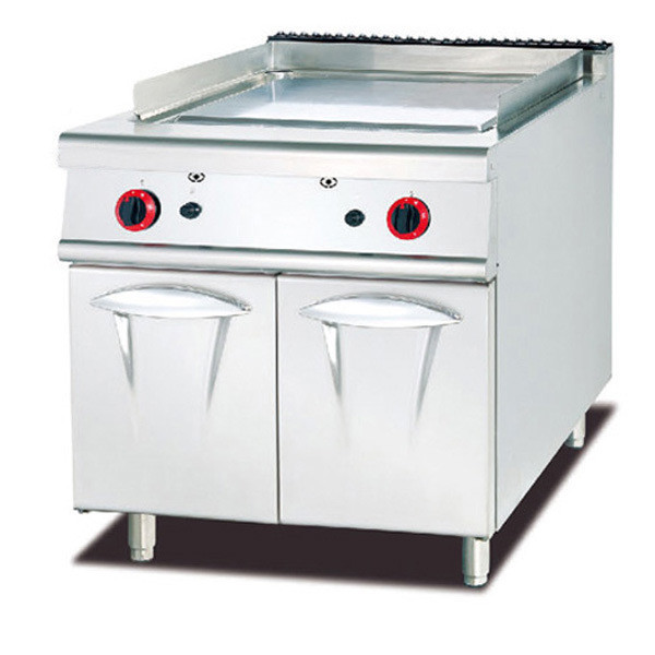 GAS GRIDDLE WITH CABINET (FLAT)
