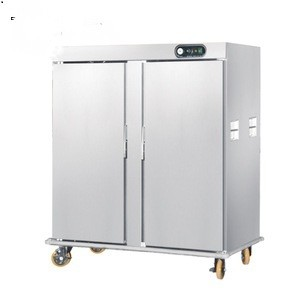 BANQUET TROLLEY WITH TWO DOOR