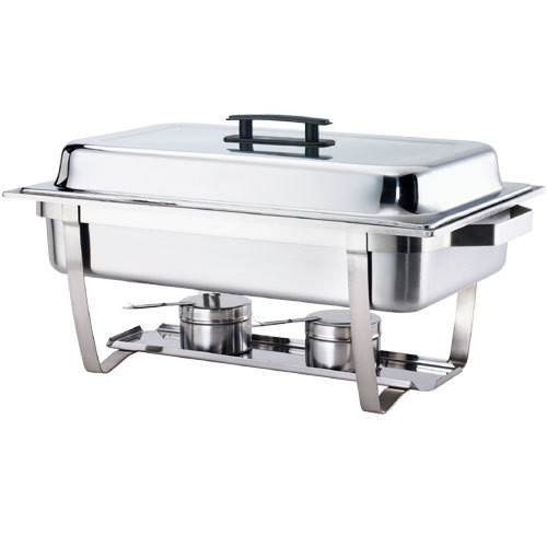STAINLESS STEEL CHAFING DISH DOUBLE PAN