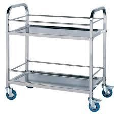 STAINLESS STEEL COLLECTING CART