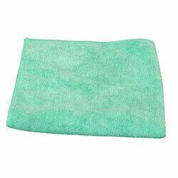 IMFC16X16G MICROFIBER CLOTH 16X16 GREEN 12/PACK