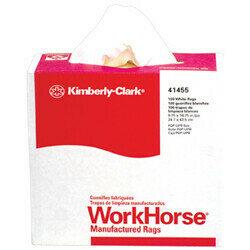 41455 WORKHORSE WHITE POP-UP WIPERS 10BOX-100/CS