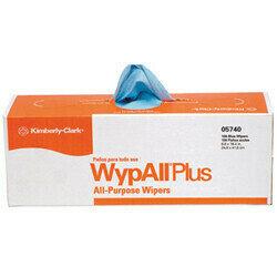 5740-10 SCOTT WYPALL PLUS BLUE 100-BX -9 BOX/CS 900/CS