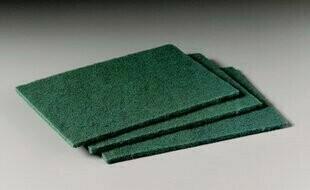 510114 PAD SCOUR 90-96 MEDIUM GREEN 60/CS