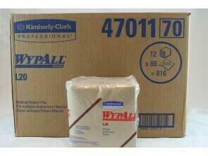 47011-00 KIMTOWELS WIPER TAN 4-PLY 800/CS 11.75