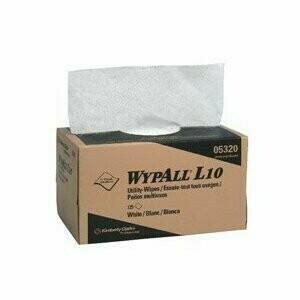 5320-00 UTILITY WIPE 9X10.5 WHITE 18PK-CS