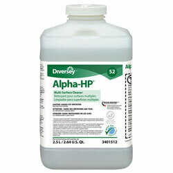 3401512 J-FILL #52 ALPHA-HP MULTI-SURFACE CLNR 2X2.5LTR/CS SOLD BY CASE ONLY