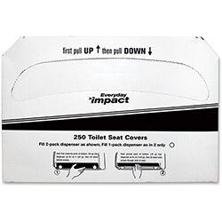 25177673 SANITARY SEAT COVERS 5000/CS 1/2 FOLD
